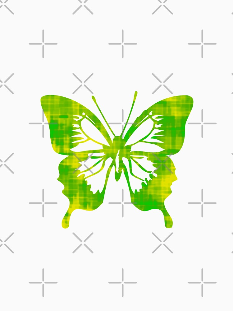 Green & Yellow Butterfly by bradyarnold