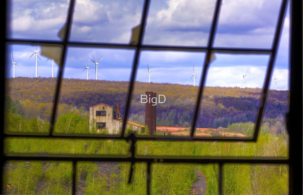 Wind Farm by BigD