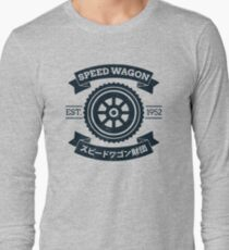 SPW - Speed Wagon Foundation [Navy] Long Sleeve T-Shirt