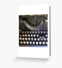 Haunted Underwood Greeting Card
