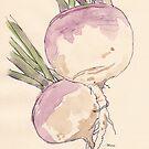 Süße, zarte Rüben, vegane Freude - botanisch von Maree Clarkson