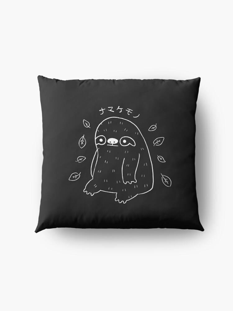 Alternate view of Monochrome Sloth - Simple Art v2.0 Floor Pillow