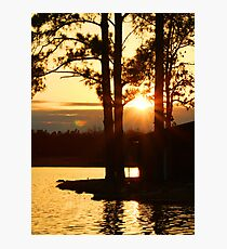 Star Sunset Photographic Print