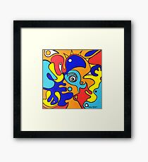 Loud and Clear Framed Print