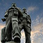 Spean Bridge commando monument, Scotland by David Carton