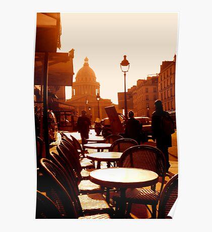 Pantheon à Paris Poster