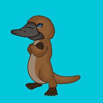 Toni - The Platypus of Mischief Corner  by mischiefcorner