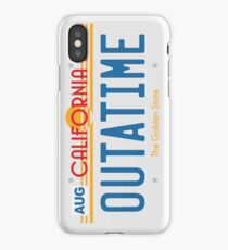 OUTATIME iPhone Case/Skin