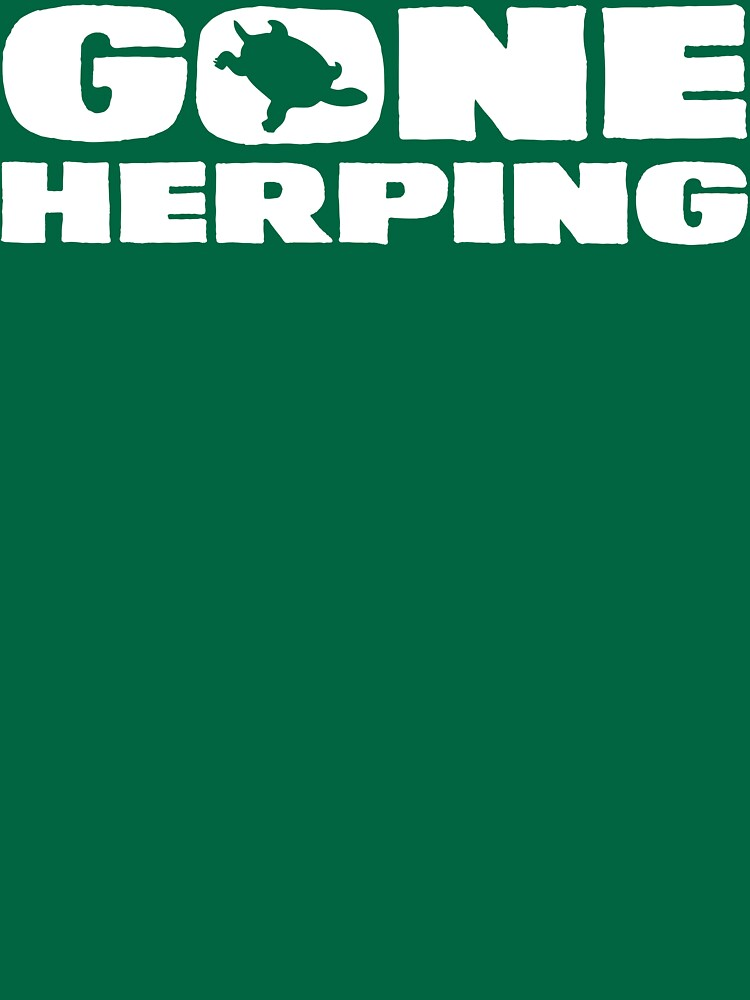 Gone Herping T Shirt by bitsnbobs