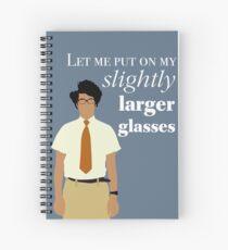 Cuaderno de espiral Se multitud - Maurice Moss Glasses