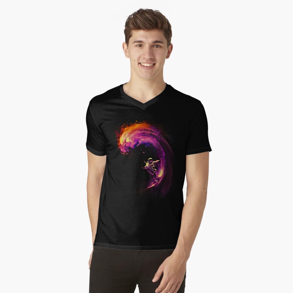 Navegación espacial Camiseta de cuello en V