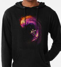 Surfen im Weltraum Leichter Hoodie