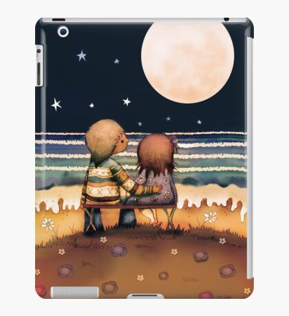 the stars, the moon and the tide iPad Case/Skin