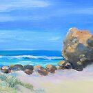 «CURRUMBIN ROCK, CURRUMBIN BEACH» de Virginia McGowan