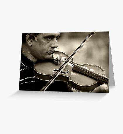 Love for Music Sequel#1 Greeting Card