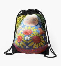 Giant Babushka doll Drawstring Bag