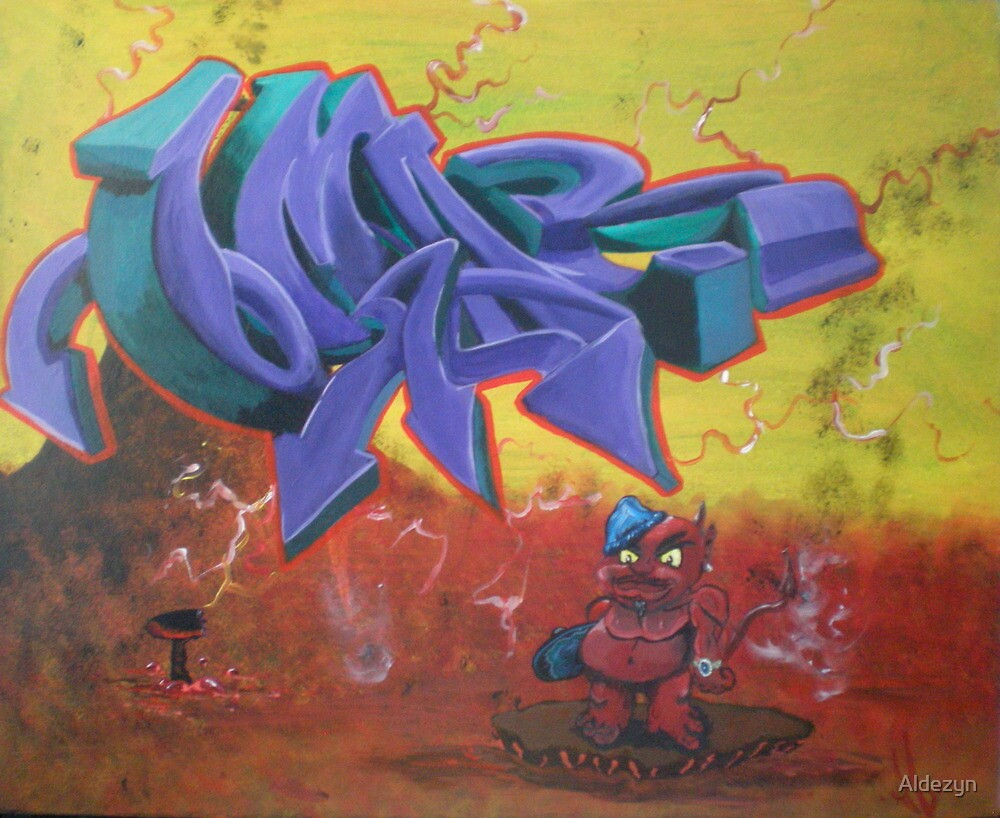 """Omar"" piece  by Aldezyn"