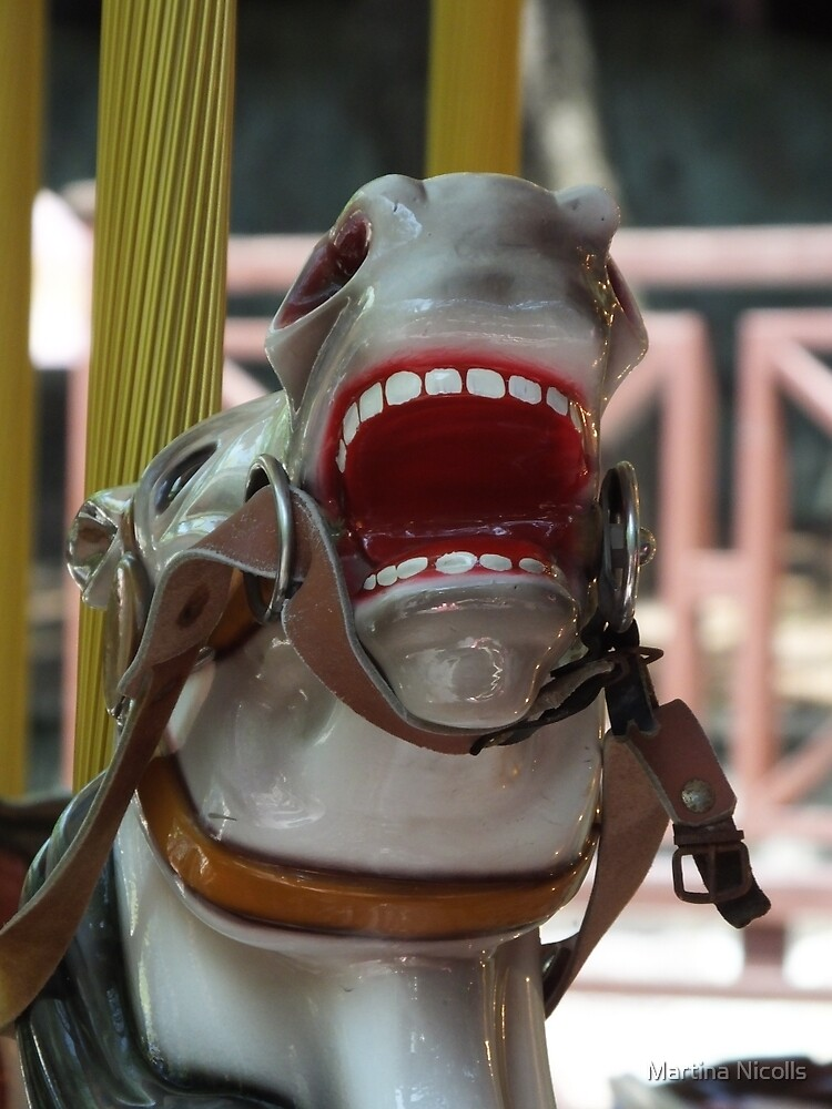 Laughing horse by Martina Nicolls