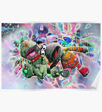 Kaleidoscopic Frenzy Poster
