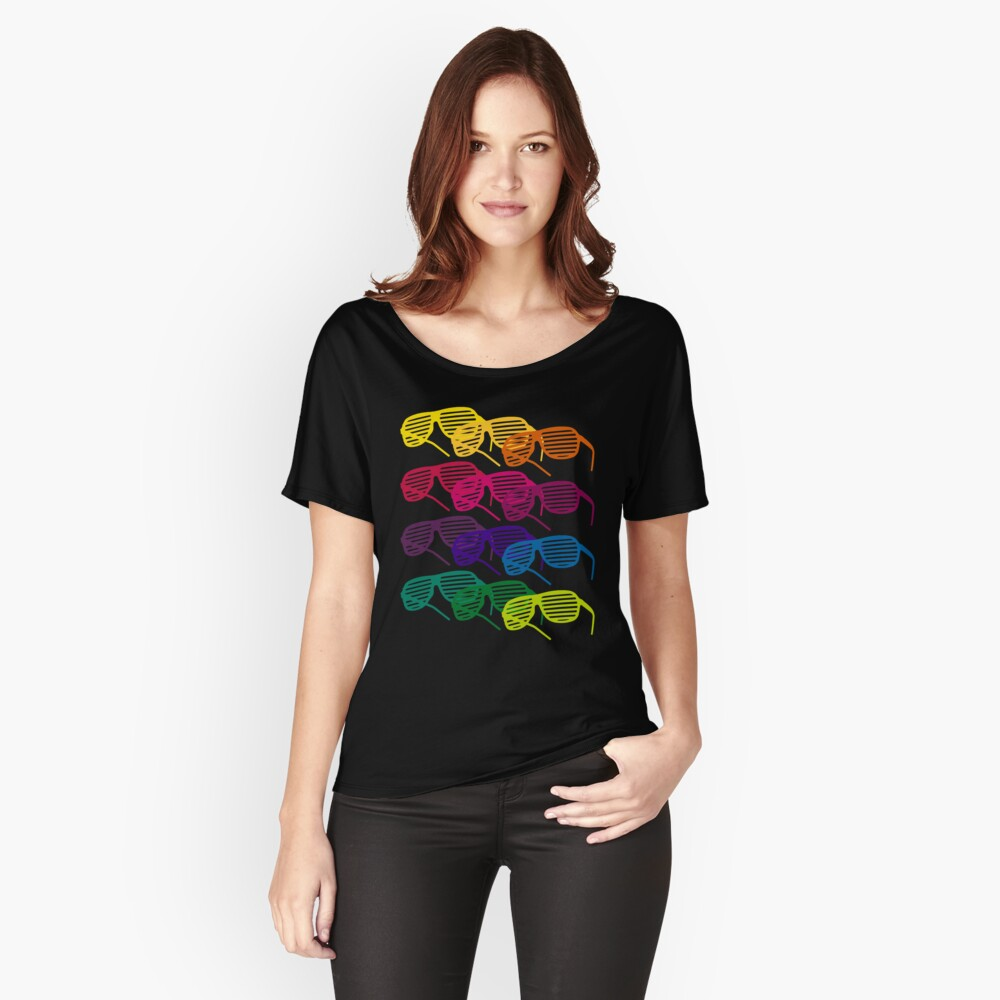 Glasses Women's Relaxed Fit T-Shirt Front