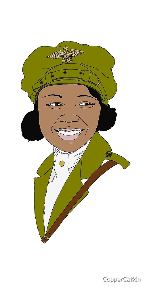 Aviatrix series - Bessie Coleman by CopperCatkin