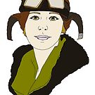 Aviatrix series - Amelia Earhart by CopperCatkin