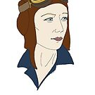 Aviatrix series - Beryl Markham by CopperCatkin