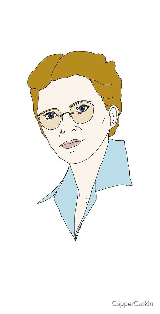 Aviatrix series - Elsie MacGill, OC by CopperCatkin