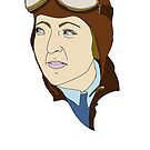 "Aviatrix series - Evelyn ""Bobbi"" Trout by CopperCatkin"
