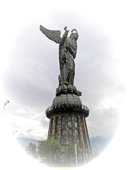 Virgen de El Panecillo IV, Quito Ecuador by Al Bourassa