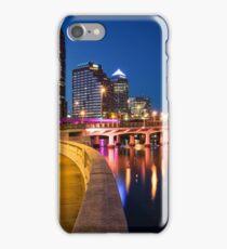 Blue Skies Of Tampa iPhone Case/Skin