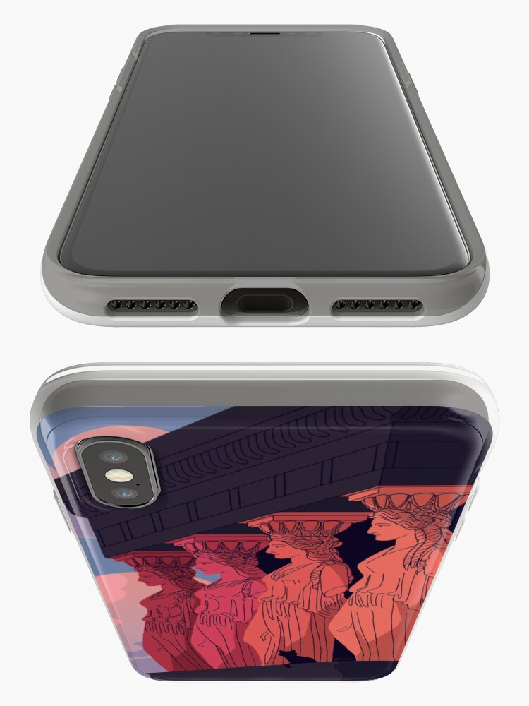Alternate view of Caryatids at Dusk iPhone Case & Cover