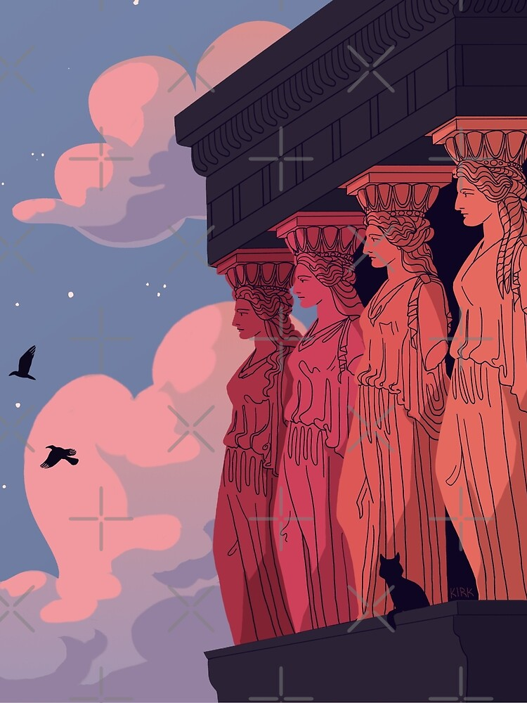 Caryatids at Dusk by flaroh