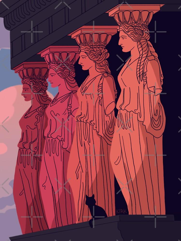 Caryatids at Dusk by flaroh