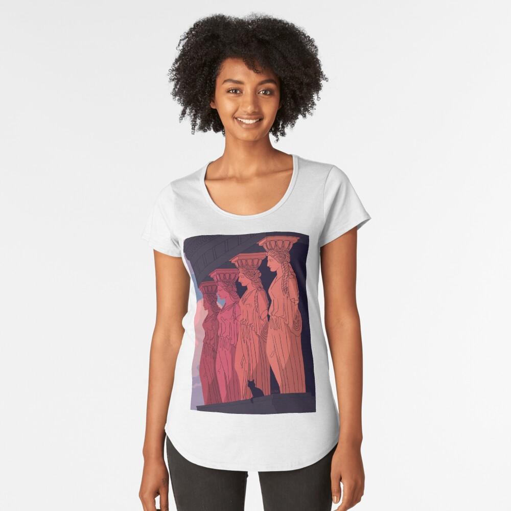Caryatids at Dusk Premium Scoop T-Shirt