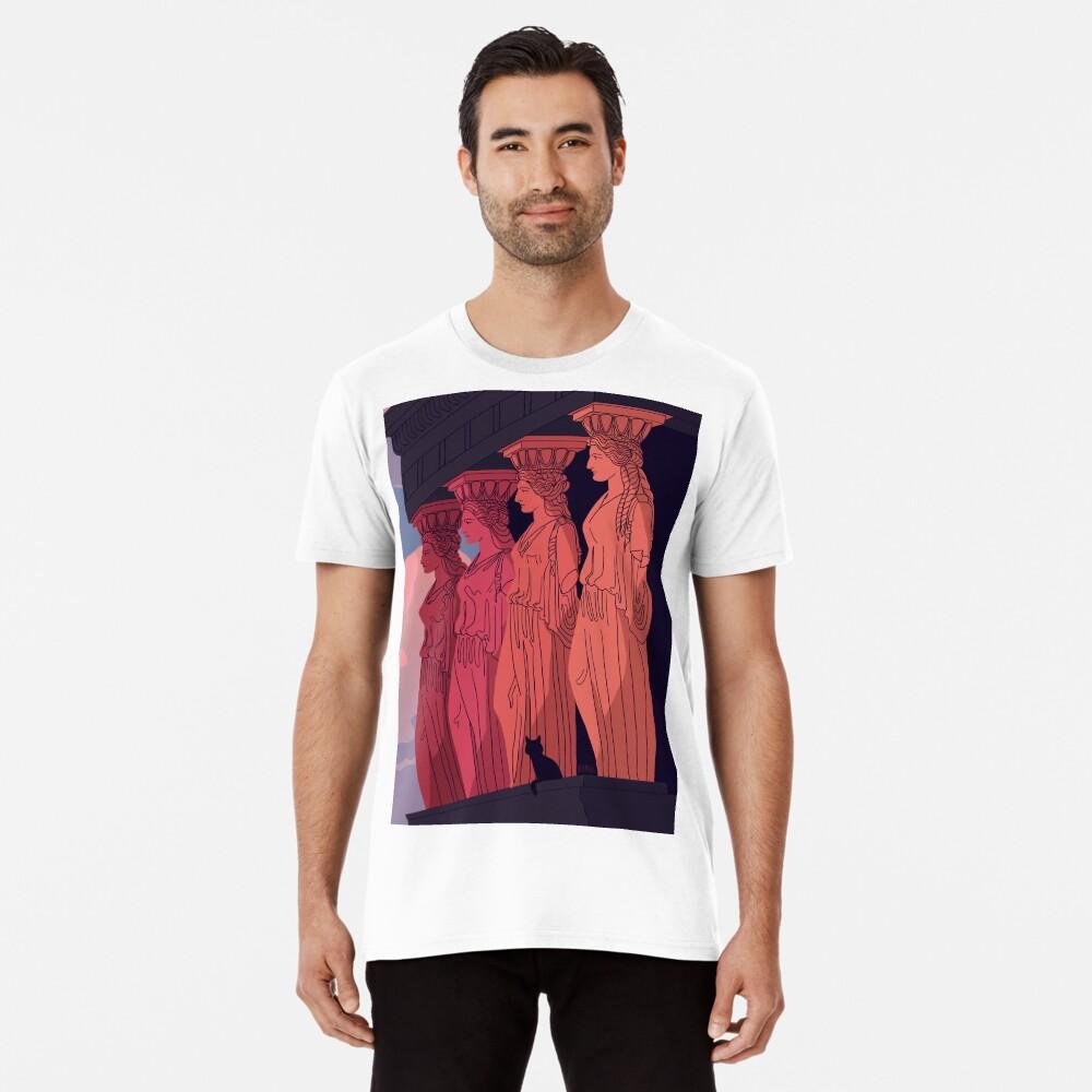 Caryatids at Dusk Premium T-Shirt