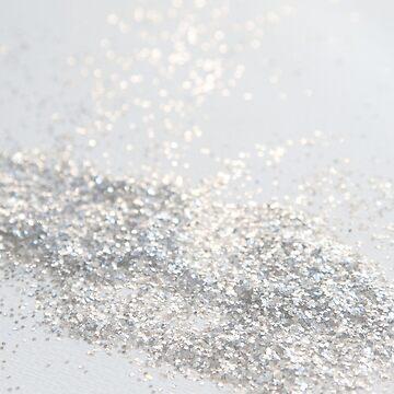 Silver Gray Glitter #3 #shiny #decor #art  by anitabellajantz