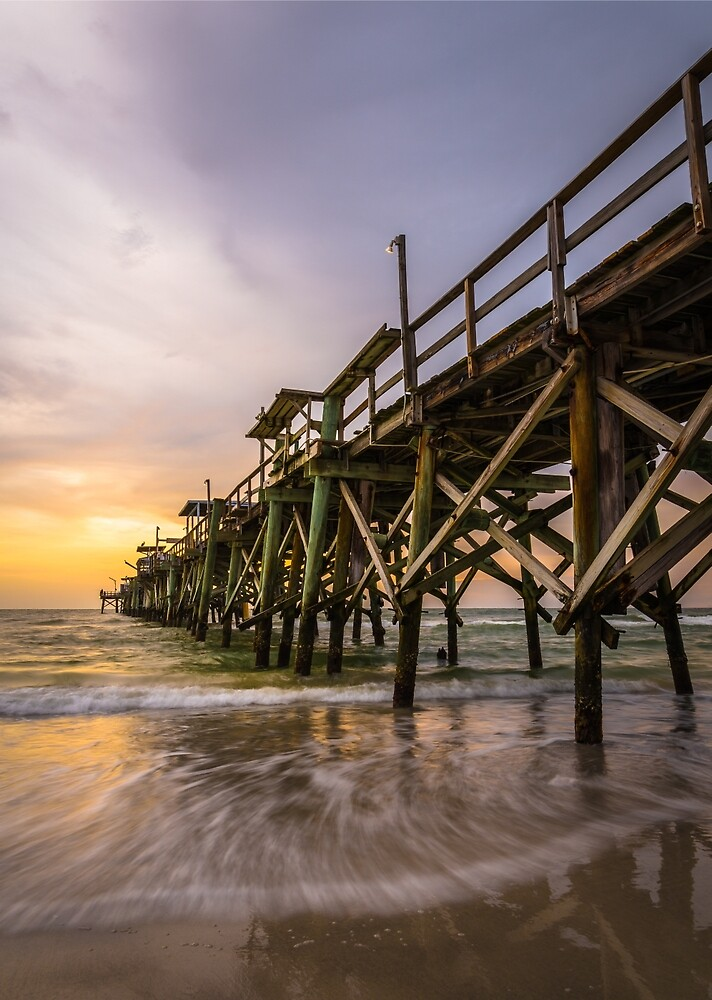 Remington Beach Long Pier by Clay Townsend