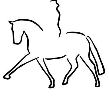 Dressage by Pferdefreundin