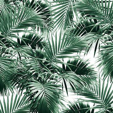 Tropical Palm Leaf Jungle #1 #tropical #decor #art  by anitabellajantz