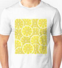 Lemon Slices Background Unisex T-Shirt