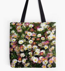 Candy Coloured Daisies Tote Bag