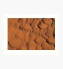 Endless Sand Art Print