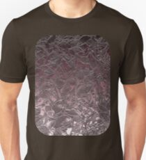 Grunge Relief Floral Abstract Unisex T-Shirt