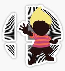 Lucas (Smash 4 Render, Red Shirt) - Sunset Shores Sticker