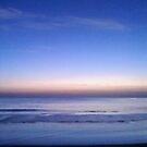 Blue Dawn On The Beach by DianaTaylor/ JacksonDunes