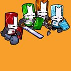Castle Crashers - The Elements by Cookied9