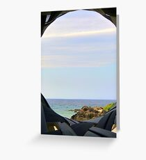 Currumbin Beach Queensland Australia Seaview Greeting Card