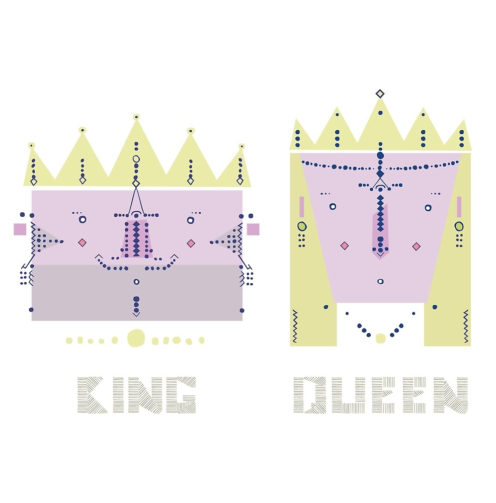 King 'n' Queen by Jeemo