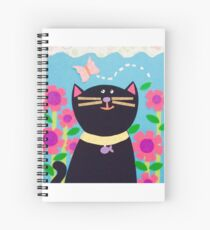 Cute cat Spiral Notebook